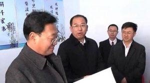 承德市委常委、市政法委书记 邢留逮到宽城县调研!