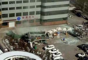承德盛华广场发生爆炸,2名钱库KTV员工受伤。