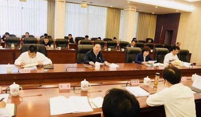 河北省承德市委常委会召开会议
