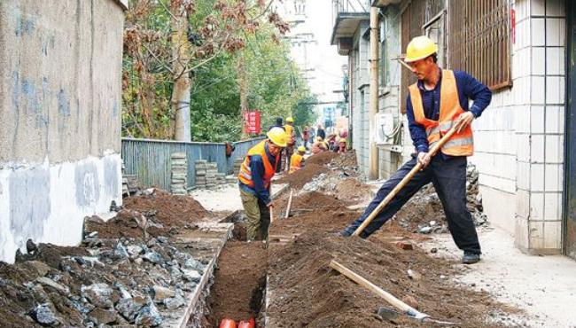 承德市对市区老旧小区进行改造升级